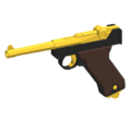 Luger P08 - GoldenNew