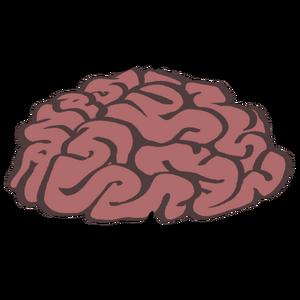 R-Brain Hardwork Logo