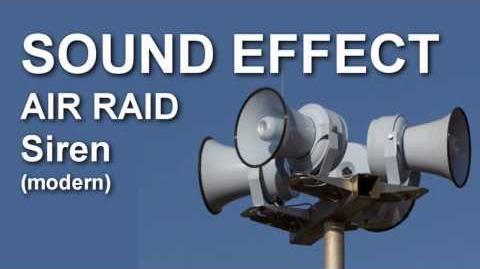 Air Raid Siren Modern SOUND EFFECT