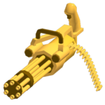 Minigun - Golden