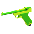 Luger P08 - Lime