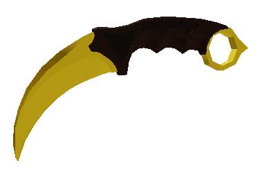 Karambit gold