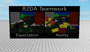 R2da poster teamwork