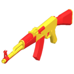 AK47 - Red Toy