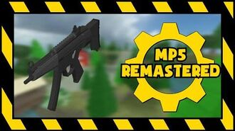 UNOFFICIAL R2DA - MP5 Animations (REMASTERED)