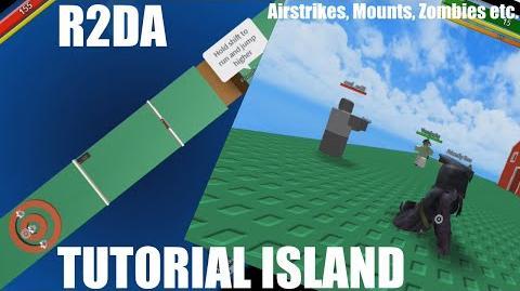 R2DA Tutorial Island, Airstrike and Mounts in Bootcamp?-2