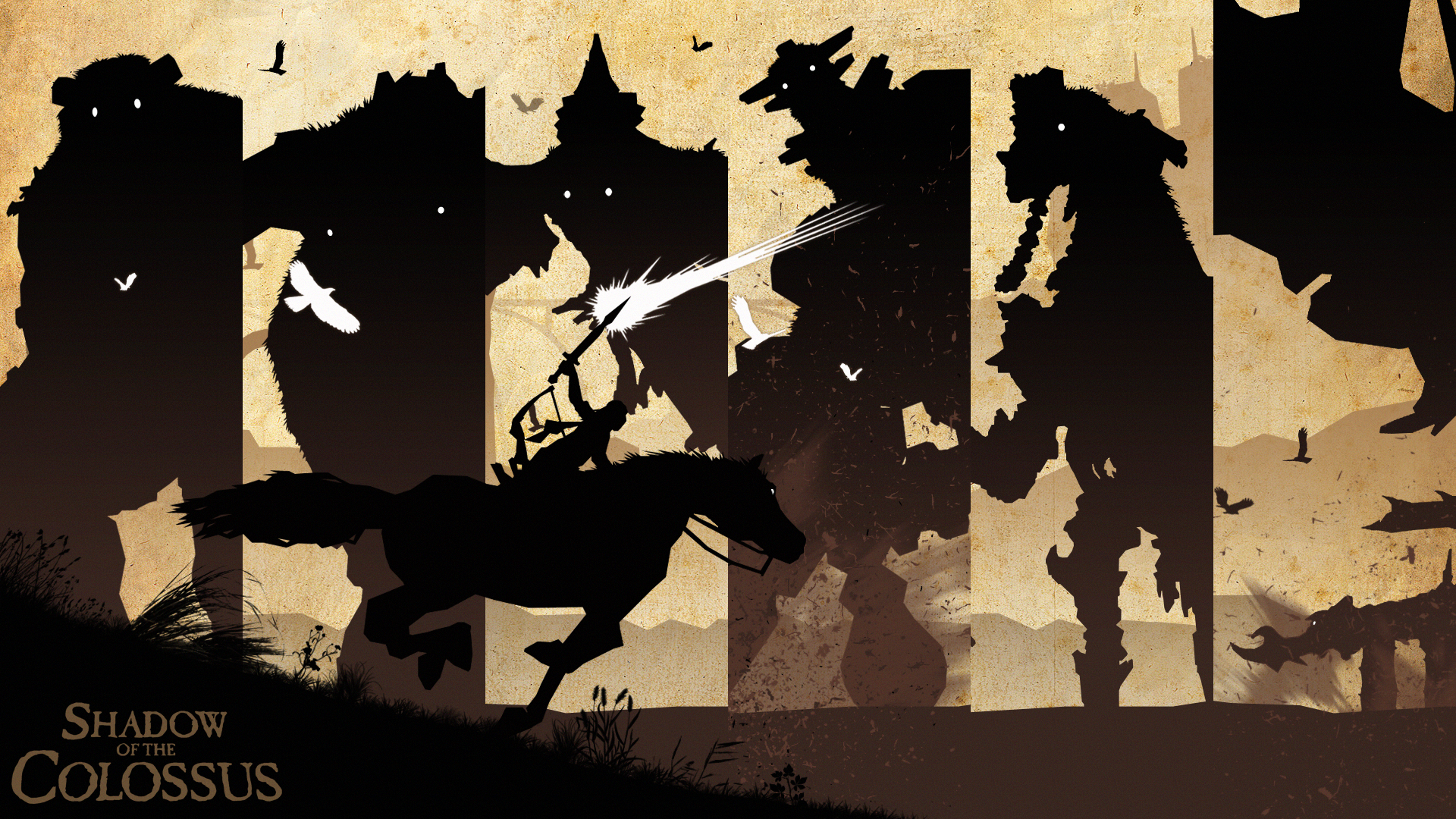 2028711 Shadow Of The Colossus Wallpaper