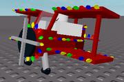 Xmasplanefrontcorner