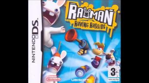 But They Can Dance! Rayman Raving Rabbids (NDS) Title theme Extented (10 min)