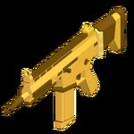 SCAR-H - Golden