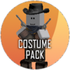 Halloween stalker costume icon