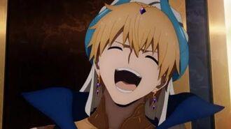 Gilgamesh's laugh Fate Grand Order Absolute Demonic Front Babylonia