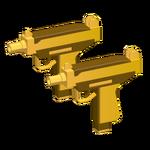 Mini Uzis - Golden