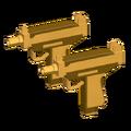Mini Uzis - Golden (REMADE)