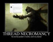 Threadnecromancy