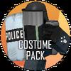 Halloween ticker costume icon