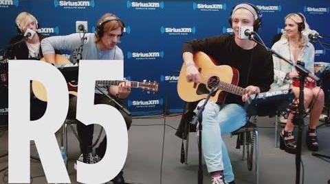 "R5 ""Heart Made Up On You"" SiriusXM Hits 1"
