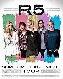 Sometime Last Night Tour