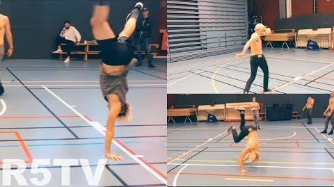 The Boys Can Breakdance!? S2E28 R5 TV