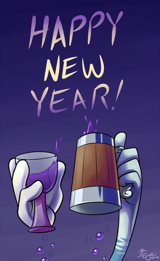 Happy new year by earthgwee-d8c3vio