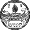 Seal of Vermont (B&W)