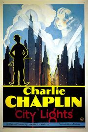 City Lights (1931 theatrical poster - retouched)