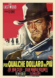 For a Few Dollars More-ita-poster