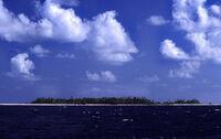 Tuvalu - Funafuti - Approach