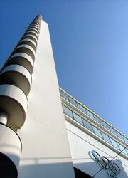 Tower of the Helsinki Olympic Stadium
