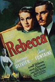 Rebecca 1940 film poster