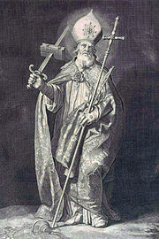 Saint Boniface by Cornelis Bloemaert