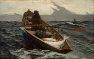 Winslow Homer - The Fog Warning - Google Art Project