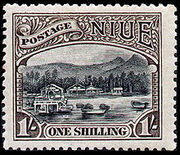 Stamp of Niue.1920.1shilling