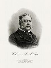 ARTHUR, Chester A-President (BEP engraved portrait)