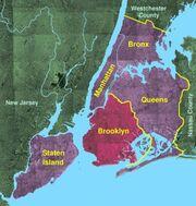 Usgs photo five boroughs brooklyn
