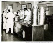 Alcatraz Dining Hall prisoners
