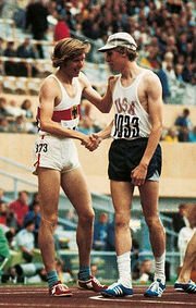 Andrzej Kupczyk and Dave Wottle 1972