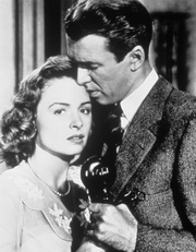 Donna Reed with James Stewart (1946)