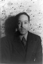 Langston Hughes by Carl Van Vechten 1936