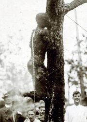 Lynching of Jesse Washington, 1916 (cropped)