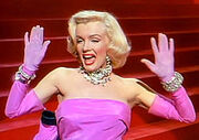 Marilyn Monroe in Gentlemen Prefer Blondes trailer