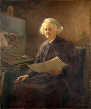 Anna Klumpke - Portrait of Rosa Bonheur (1898)