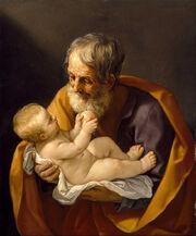 Guido Reni - Saint Joseph and the Christ Child - Google Art Project