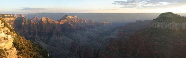 Grand Canyon - North Rim Panorama - Sept 2004