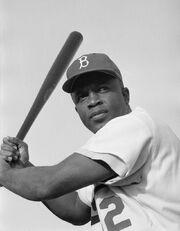 Jackie Robinson, Brooklyn Dodgers, 1954
