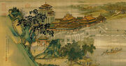 Zhang Zeduan Along the River During the Qingming Festival detail