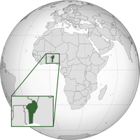 Benin (orthographic projection with inset).png