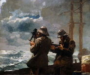 WinslowHomer-Eight Bells 1886