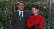 Cary Grant and Audrey Hepburn in Charade 2
