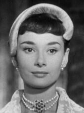 Audrey Hepburn Roman Holiday cropped